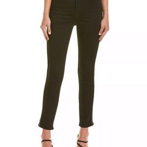 Hudson Jeans Holly Black High Rise Crop Skinny